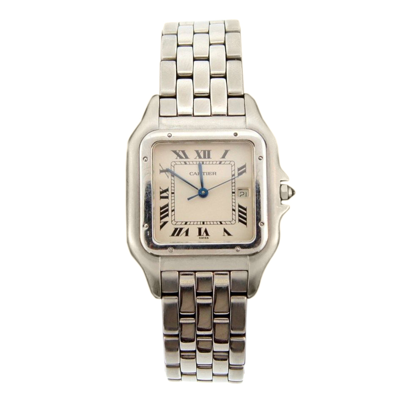 "Image of ""Cartier Panthere Stainless Steel Watch"""