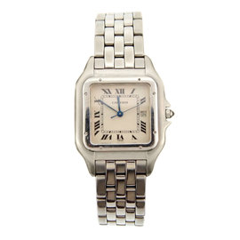 Cartier Panthere Stainless Steel Watch