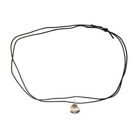 Pomellato 18K White Gold Heart Necklace