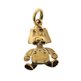 Pomellato 18K Yellow Gold Dog Pendant