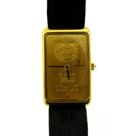 Corum 18K Yellow Swiss Gold Union Bank Of Switzerland Gr. 15 9999 Mens Watch