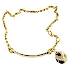 Pomellato 18K Yellow & White Gold Charm Necklace