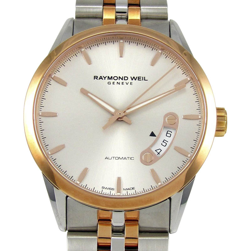 """Image of """"Raymond Weil Freelancer 2770-Sp5-65011 Stainless Steel & Rose Gold"""""""