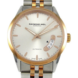 Raymond Weil Freelancer 2770-SP5-65011 Stainless Steel & Rose Gold Automatic 38mm Mens Watch