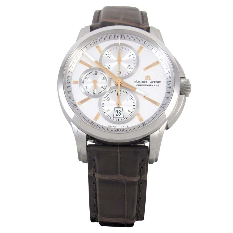 """Image of """"Maurice Lacroix Pontos Stainless Steel 43mm Mens Watch"""""""