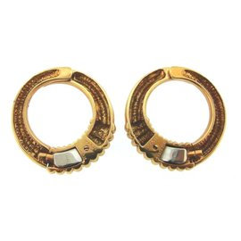 Van Cleef & Arpels 18K Yellow Gold Clip On Earrings
