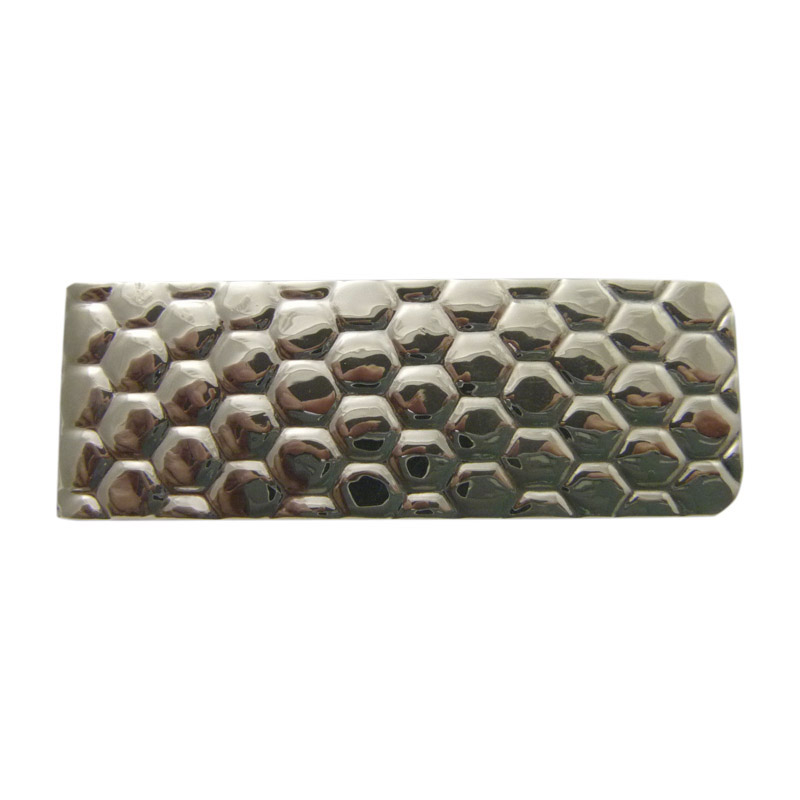 """Image of """"Tiffany & Co Sterling Silver Honeycomb Moneyclip"""""""