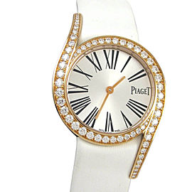 Piaget Limelight Gala GOA38161 18K Rose Gold / Satin 32mm Womens Watch