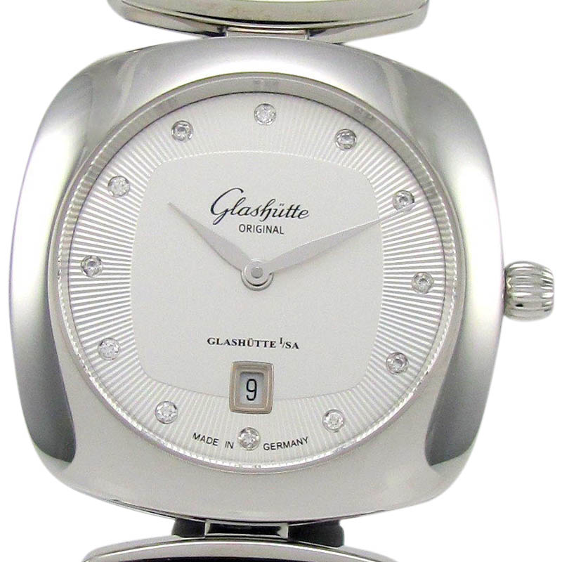 "Image of ""Glashutte Original Pavonina Stainless Steel 31mm Womens Watch"""