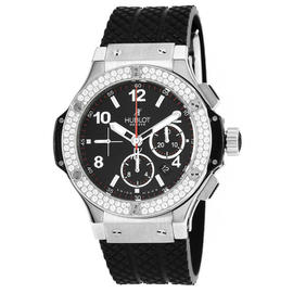 Hublot Big Bang 301.SX.130.RX.114 Stainless Steel 1.78 Ct Diamond Bezel 44.5mm Watch