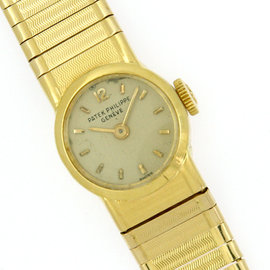Patek Philippe 3215/57 18K Yellow Gold Manual Vintage 11mm Womens Watch
