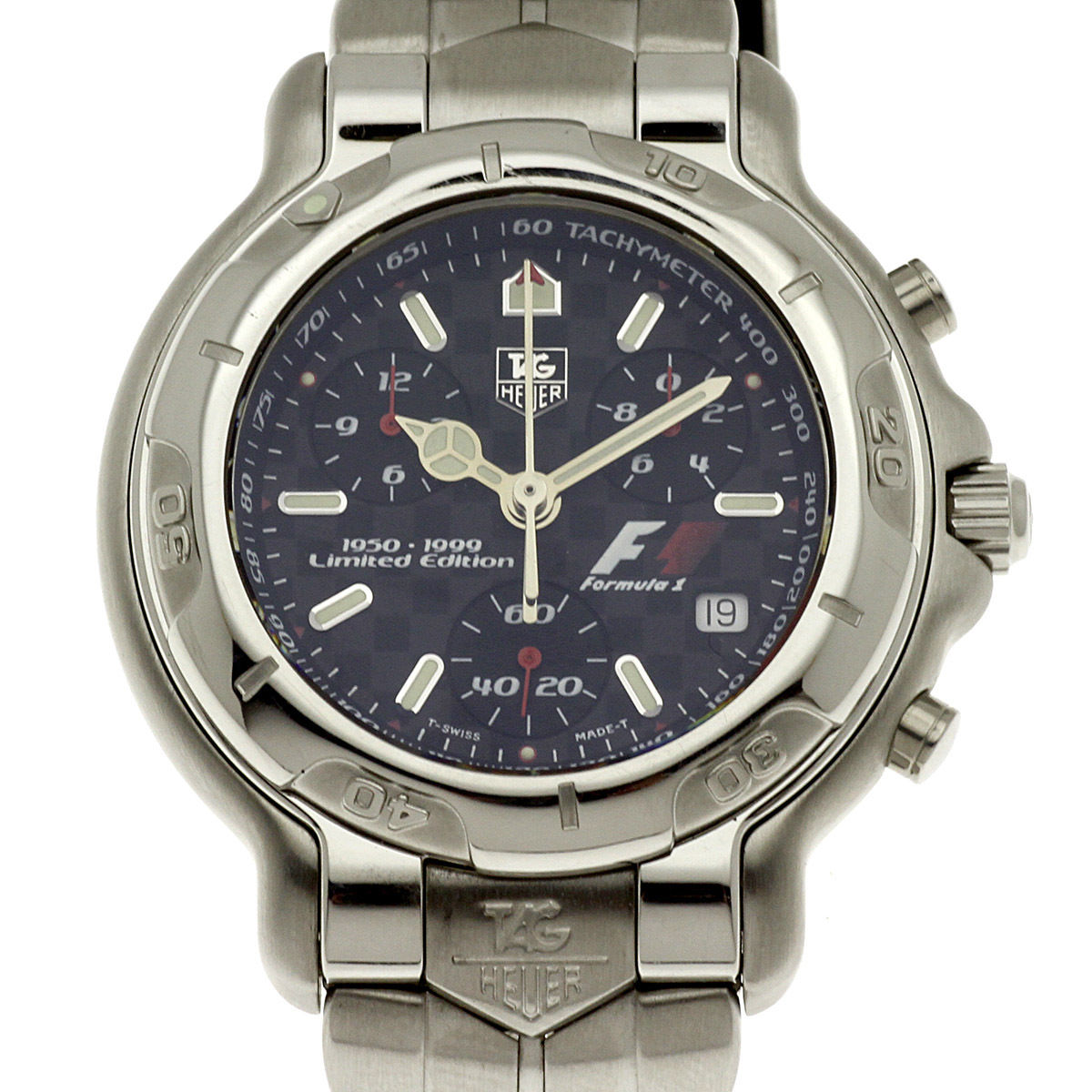 """Image of """"Tag Heuer F1 Ch1116 Stainless Steel Quartz 38mm Mens Watch"""""""