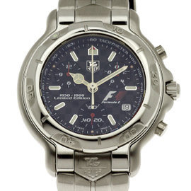 Tag Heuer F1 CH1116 Stainless Steel Quartz 38mm Mens Watch
