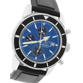 Bretiling Superocean Heritage A1332024 Stainless Steel / Rubber 46mm Mens Watch