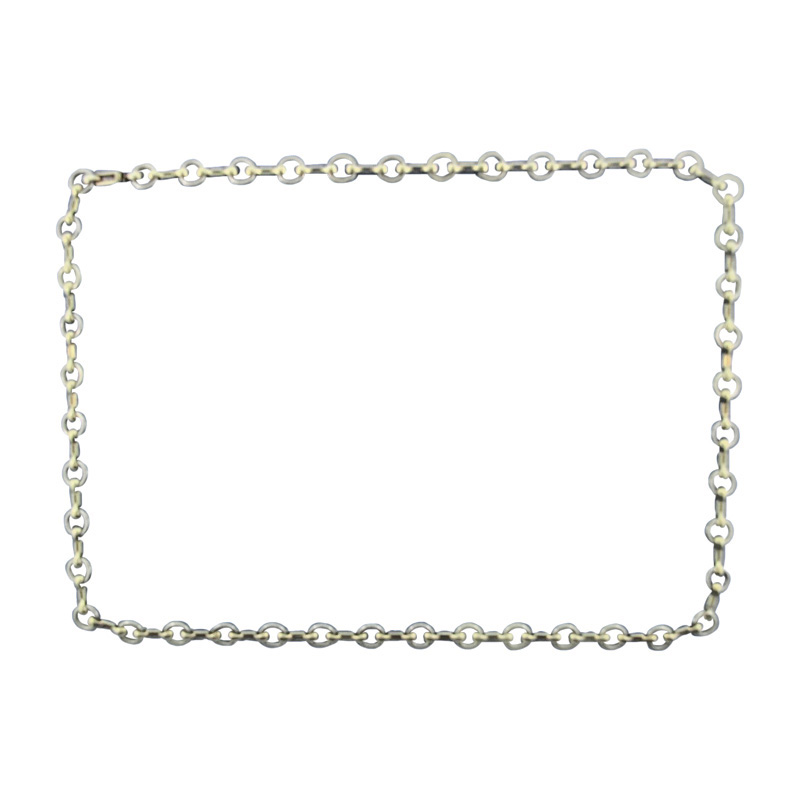 """""Cartier Chic Paris 18K Yellow & White Gold Link Necklace"""""" 1120628"