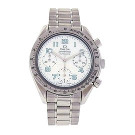Omega Speedmaster 3534.71.00 Stainless Steel Mother of Pearl Dial Automatic 38mm Mens Watch