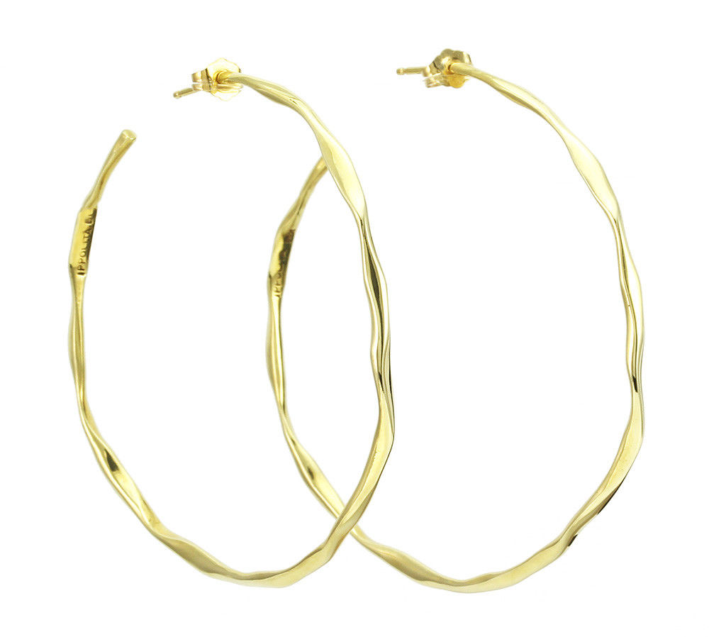 "Image of ""Ippolita 18K Yellow Gold Hoop Earrings"""