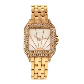 Cartier Panthere 18K Yellow Gold 27mm Womens Watch