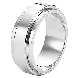 Piaget 18K White Gold G34PK900 Possession Ring Size 6.75