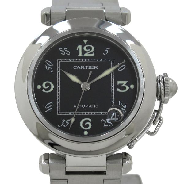 """Image of """"Cartier Pasha C W31043M7 Stainless Steel Automatic 35mm Mens Watch"""""""