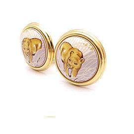 Hermes Enamel And Cloisonne Earring