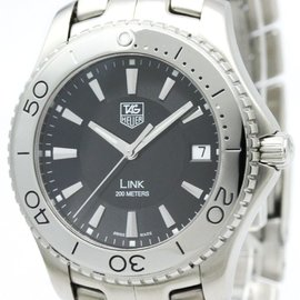Tag Heuer Link WJ1110 Stainless Steel 39mm Womens Watch