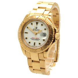 Rolex Yachtmaster 16628 18K Yellow Gold Mens Watch