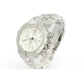 Breitling Super Avenger Chronograph Stainless Steel Automatic Mens Watch