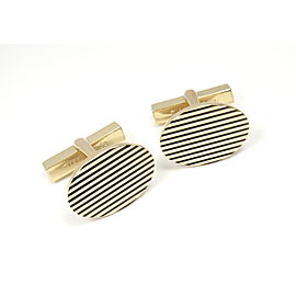 Tiffany & Co 14K Yellow Gold Cufflinks