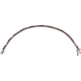 14K White Gold & 0.90ct Ruby Bracelet