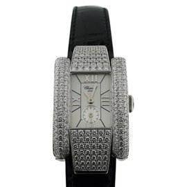 Chopard La Strada 18K White Gold Womens Watch