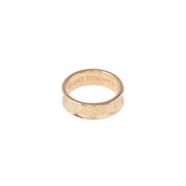 Tiffany & Co. 18K Yellow Gold Ring Size 5.25