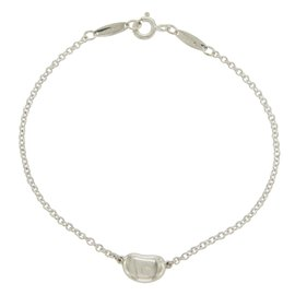 Tiffany & Co. Elsa Peretti 925 Sterling Silver Bean Bracelet