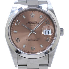 Rolex Oyster Date Stainless Steel 35mm Mens Watch