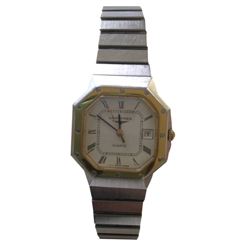 "Image of ""Longines Stainless Steel 32.53mm Octagon Shape Watch"""