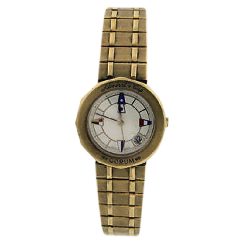 "Image of ""Corum Admirals Cup 18K Yellow Gold 24mm Watch"""