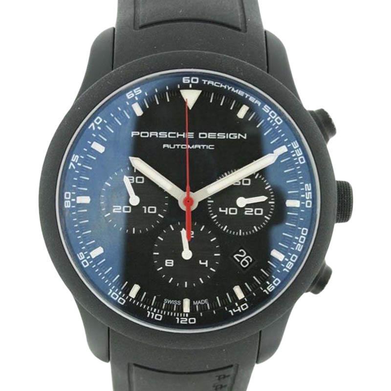 """Image of """"Porsche Design Dashboard 612.17/3 PVD Titanium 45mm Watch"""""""