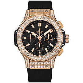 Hublot Big Bang 301.PX.1180.RX.1704 18K Rose Gold with Gold Dial 44mm Mens Watch