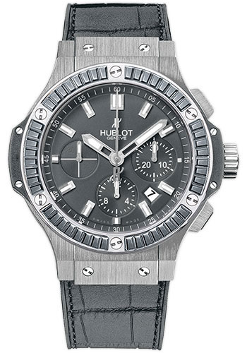 "Image of ""Hublot Big Bang 301.st.5020.gr.1912 Stainless Steel & Alligator"""