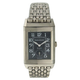 Jaeger LeCoultre Reverso Grand Taille QA270301 18K White Gold Manual 43mm Mens Watch