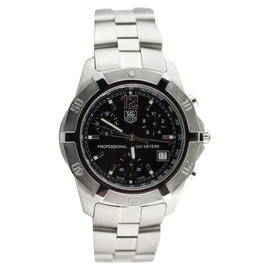 Tag Heuer Stainless Steel Professional 200M Quartz Chronograph Watch