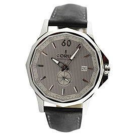 Corum Admirals Cup Legend Stainless Steel Leather Strap Watch