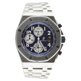 Audemars Piguet Royal Oak Offshore 26170ST Blue Themes Bracelet Watch