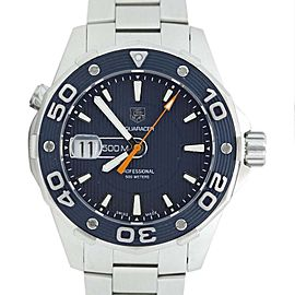 Tag Heuer Aqua Racer WAJ1112 500M Quartz Diver Mens Watch