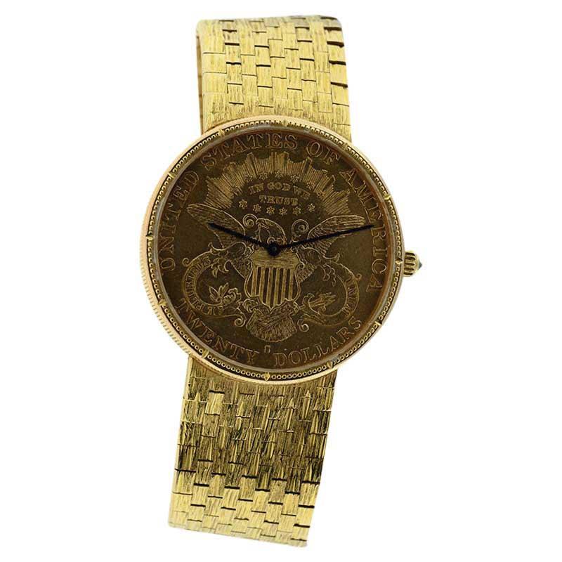 "Image of ""Corum $20 18K Yellow Gold 35mm Watch"""
