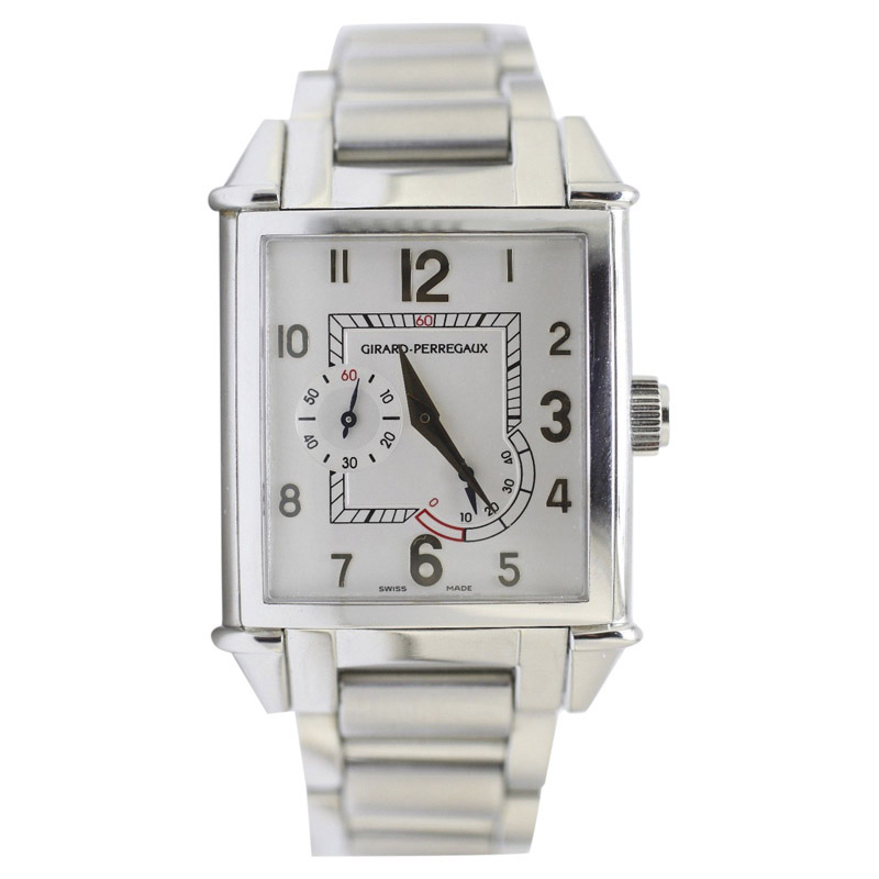 """Image of """"Girard Perregaux Stainless Steel Automatic Vintage 32mm Mens Watch"""""""
