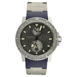 Ulysse Nardin Marine Diver 263-33 Rhodium Dial Watch