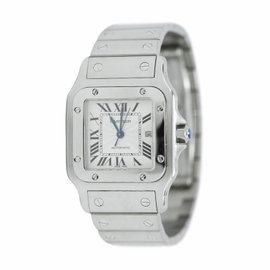 Cartier Santos Galbee Automatic Stainless Steel Watch