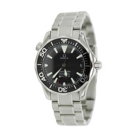 Omega Seamaster 300m Chonometer 2262.50.00 Black Dial Watch