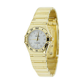 Omega 18K Yellow Gold Quartz Constellation 31mm Watch